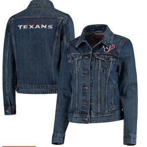 Levi's x NFL Houston Texans trucker jacket